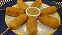 Paneer Corndog